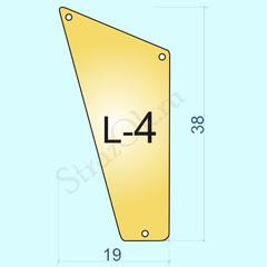 Закупить пришивные зеркала оптом Light Gold L4
