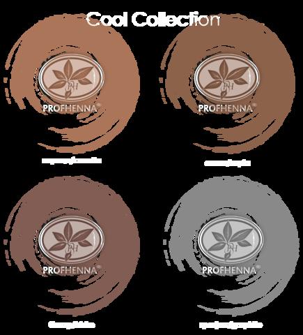 Коллекция Cool набор 4 холодных оттенка