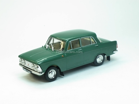 Moskvich-408 Elite green 1:43 Nash Avtoprom