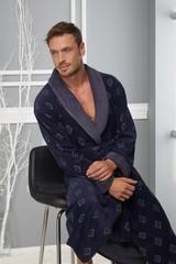 Классический мужской халат 2950-2  Nusa Турция