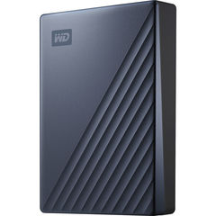 Жесткий диск внешний Western Digital 4TB My Passport Ultra USB-C 3.0 (Синий) WD