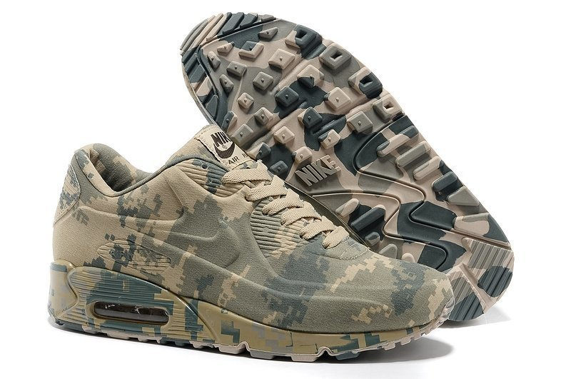 Nike Air Max 90 VT Military (Camouflage Beige) (014)