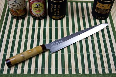 Кухонный нож Sashimi Medake 8114-DM