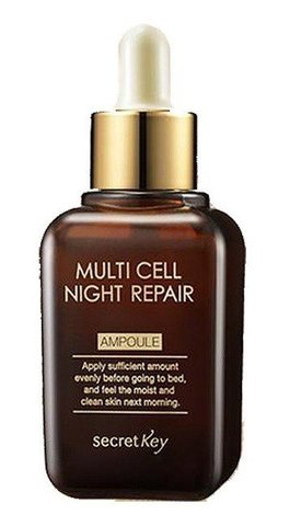 Secret Key Multi Cell Night Repair Ampoule Сыворотка для лица (30мл)