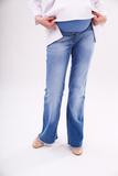 Джинсы для беременных (BOOT CUT) 08408 синий