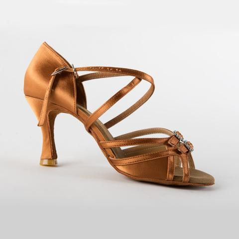 Туфли для латины с пряжками арт.S297dt7