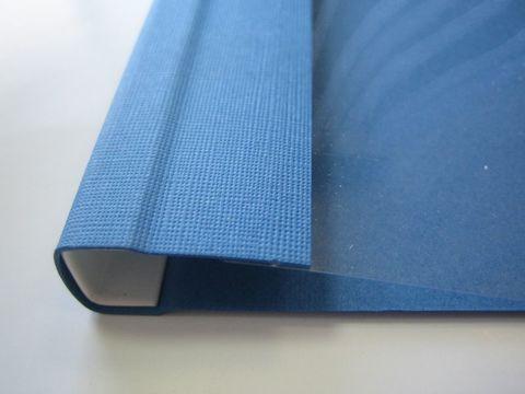 Мягкие обложки C-BIND А4 SOFTCLEAR AA (5мм) синие (50 шт.)