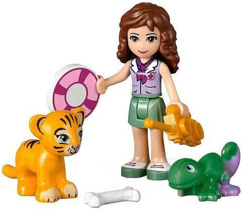 LEGO Friends: Спасение тигрёнка у водопада 41033