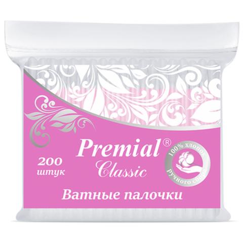 Bumfa Group Premial Classic Ватные палочки (в пакете) 200шт