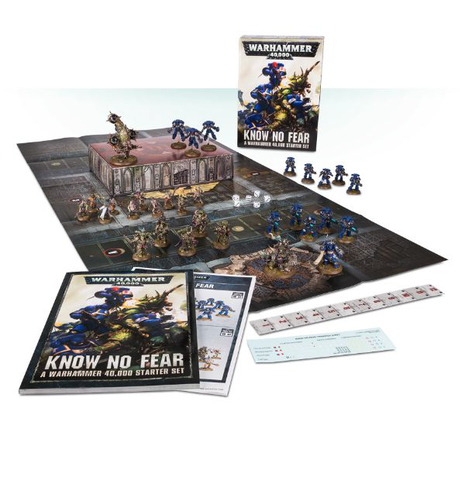 WARHAMMER 40000 STARTER SET: KNOW NO FEAR (НЕ ВЕДАЯ СТРАХА)