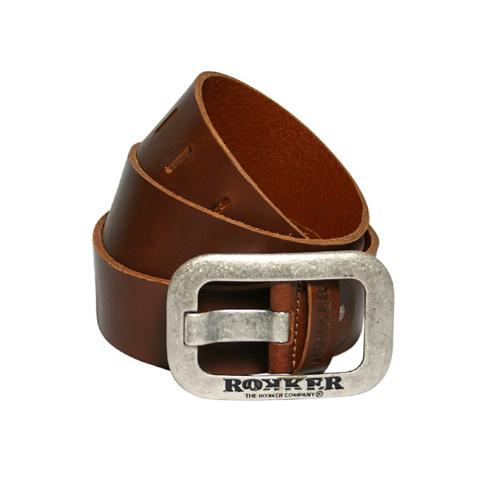 Rokker, Ремень Корона, коричневый
