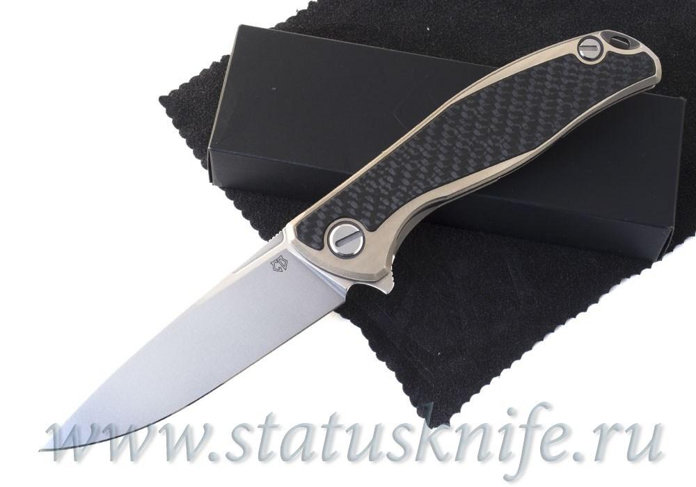 Нож Широгоров Ф95 High Polished CF M390 Кастом Дивижн