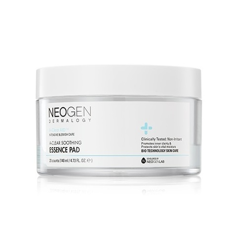 Очищающие пэды NEOGEN A-CLEAR Soothing Essence Pad 20шт.