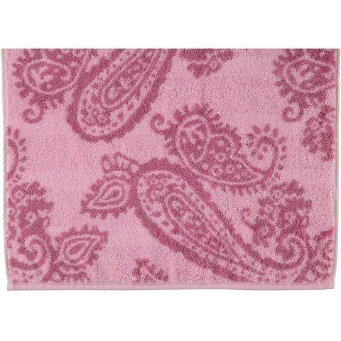 Полотенце 30х50 Cawo Paisley 1068 розовое