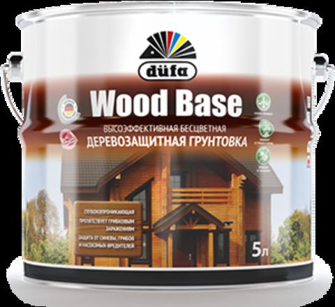 Dufa Wood Base/Дюфа Вуд Бэйз грунт с биоцидом, бесцветный