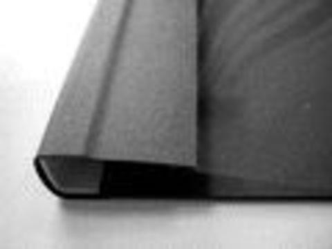 Мягкие обложки C-BIND А4 SOFTCLEAR AA (5мм) черные (50 шт.)
