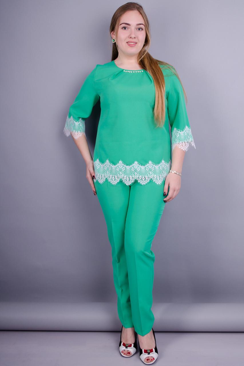 Тей. Жіночий брючний костюм великих розмірів. 92eb9674a1784