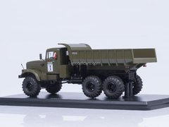 KRAZ-256B Tipper 6x6 khaki 1:43 Start Scale Models (SSM)
