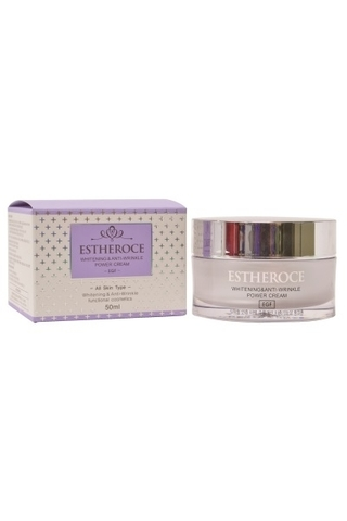 EGF ESTHEROCE WHITENING & ANTI-WRINKLE POWER CREAM