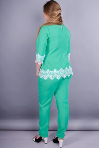 Тэй. Женский костюм больших размеров. Мята.