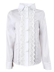 0328 блузка детская, белая