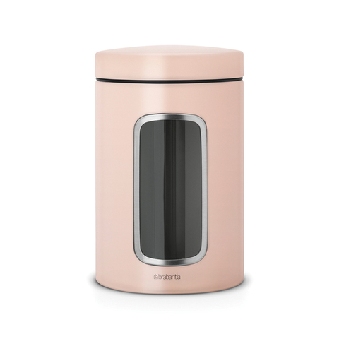 Контейнер для сыпучих продуктов с окном (1,4 л), Чайная роза, арт. 486029 - фото 1