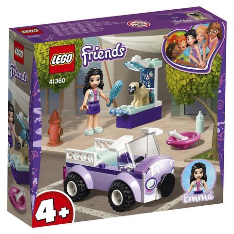LEGO Friends: Передвижная ветклиника Эммы 41360 — Emma's Mobile Veterinary Clinic — Лего Френдз Друзья Подружки