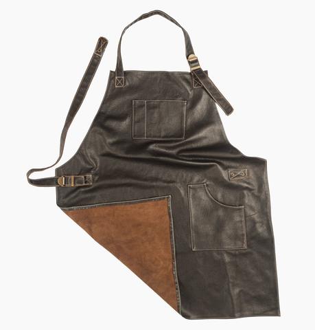 Мужской брутальный кожаный фартук Brewer Lab BL17111 размер М