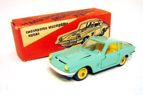 Maserati Mistral Coupe #A-10 USSR remake 1:43