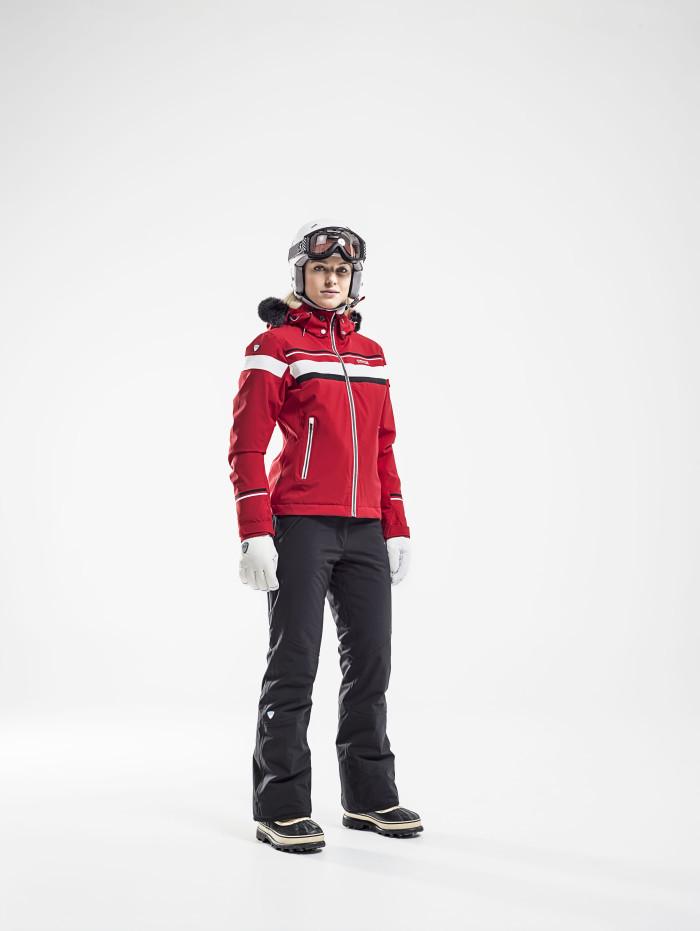 Женская куртка 8848 Altitude Carlin красная (668703)