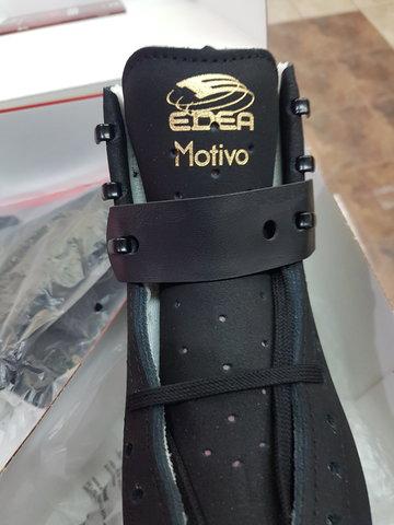 Коньки Edea Motivo (Черные) с лезвиями Rotation