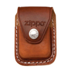 Чехол ZIPPO для зажигалки кожа с металлическим фиксатором на ремень коричневый (LPCB) чехол zippo для зажигалки кожа с клипом черный lpcbk
