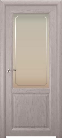 Дверь Океан Оптима 2, стекло белое