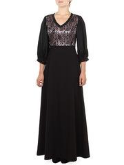 P3026-9z платье женское, черное