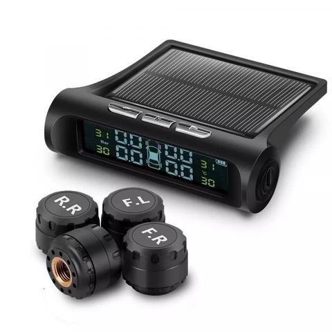 Система контроля давления в шинах TP800W с внешними датчиками, дисплей с солнечной батареей
