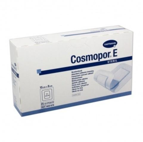 Космопор Е Стерил - Cosmopor E Steril, пластырная повязка с подушечкой, 15х8 см