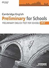 Cambridge PET For Schools Pract Tests SB