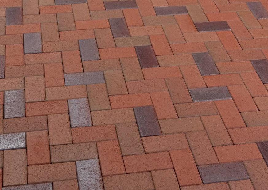 Клинкерная тротуарная плитка Feldhaus Klinker, P405KDF,