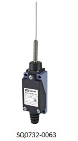 Концевой выключатель ВККН-2106 М11-У2 пружинный рычаг «кошачий ус» 5А 1з+1р метал. корпус IP65 TDM