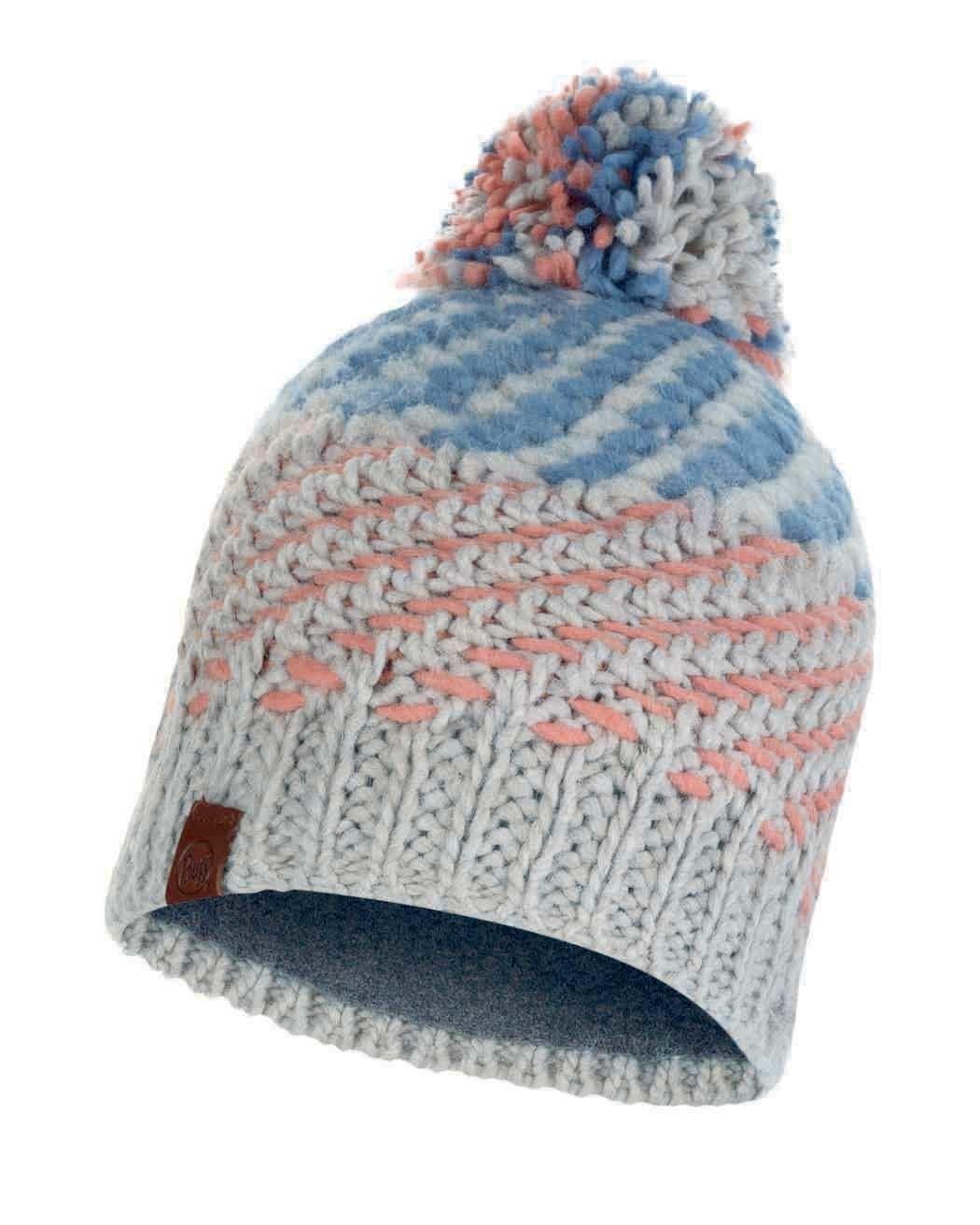 Шапки с помпоном Вязаная шапка с флисовой подкладкой Buff Hat Knitted Polar Nella Multi 117891.555.10.00.jpg