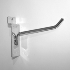 Крючок для экономпанели 100 мм d.4 mm  хром, ЭП 290/4