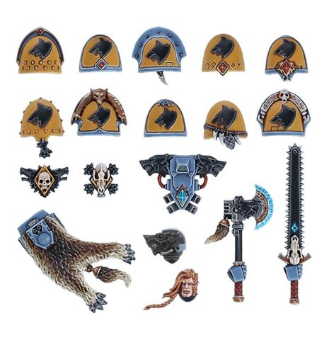 SPACE WOLVES UPGRADES