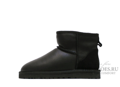 UGG Mini Bailey  Metallic Black