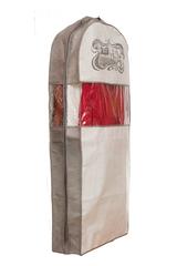 чехол для одежды двойной длинный 130х60х20, париж вечер в париже
