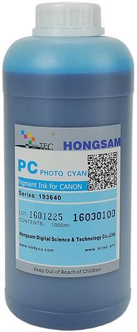 Чернила DCTec iPF6400/iPF8400 Photo Cyan (PC) 1000мл пигмент (серия 193640)