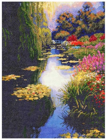 52403 View From Monet`s Bridge