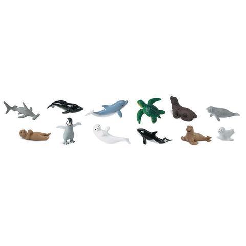 Набор фигурок Детеныши обитателей моря, Safari Ltd.