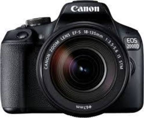 Canon EOS 2000D Kit 18-135mmf/3.5-5.6 IS STM
