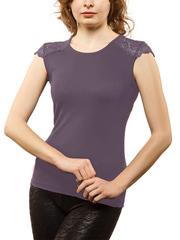 WBV108-1 блузка женская, аметист