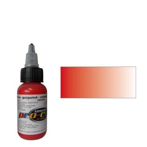 60006 Краска для аэрографии Pro-Color Crimson Red (ПУРПУРНЫЙ) 30мл. укрывистый